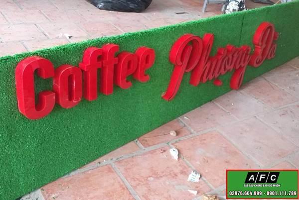 Thiết kế thi công bảng hiệu đẹp đơn giản tại Phú Quốc