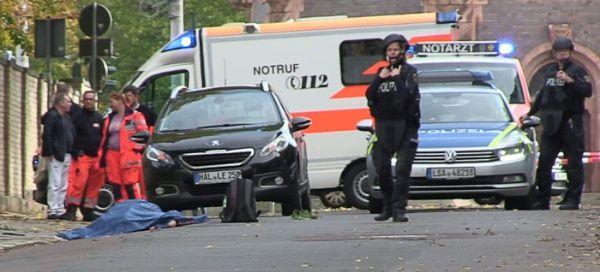 Ataque a sinagoga en Alemania deja dos muertos y varios heridos