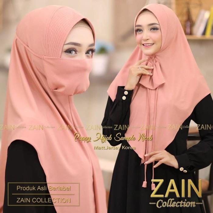 Jilbab Syari Plus Masker Cantik Anggun