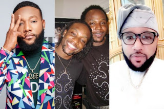 Kcee and Emoney's throwback photo