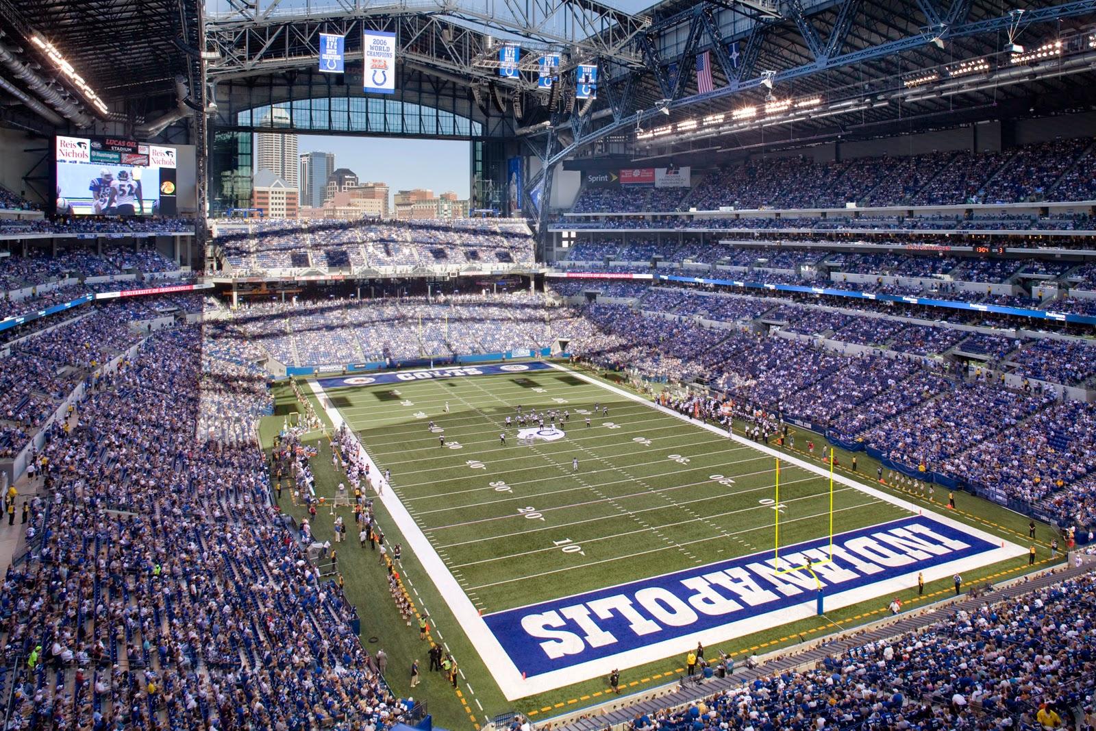Indianapolis Colts Luxury Suite Rentals | Lucas Oil Stadium