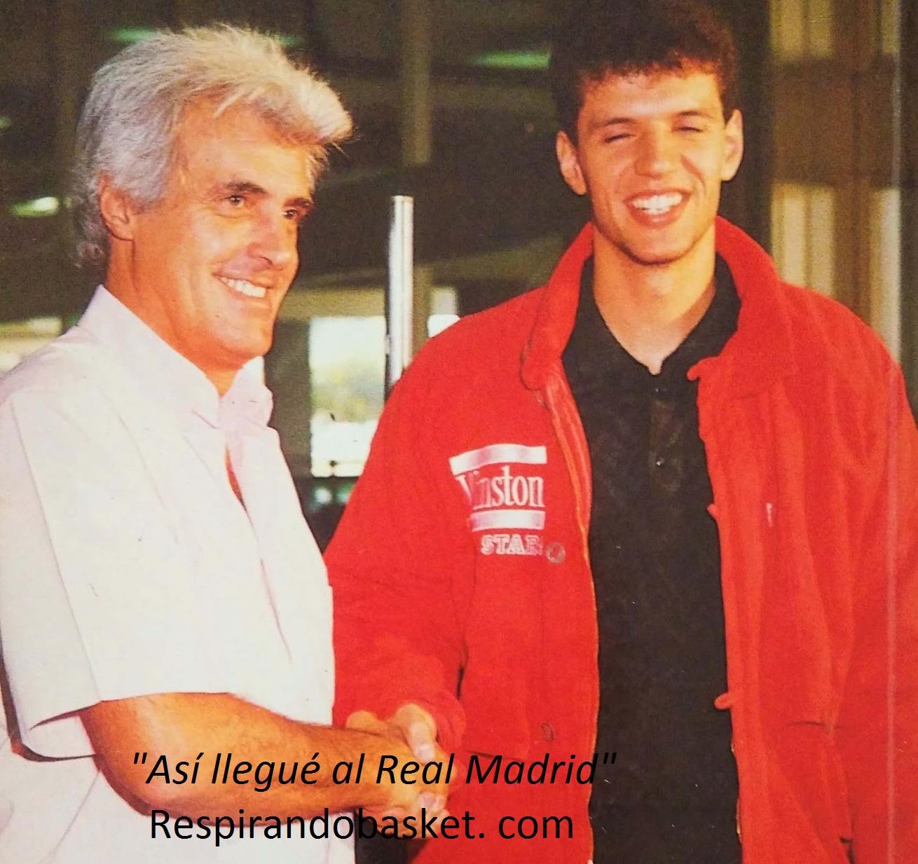 599deaaa5 El 27 de octubre de 1986 Drazen Petrovic estaba superado por los  acontecimientos. Solo unos días antes se imaginaba vestido con la camiseta  del Barcelona.