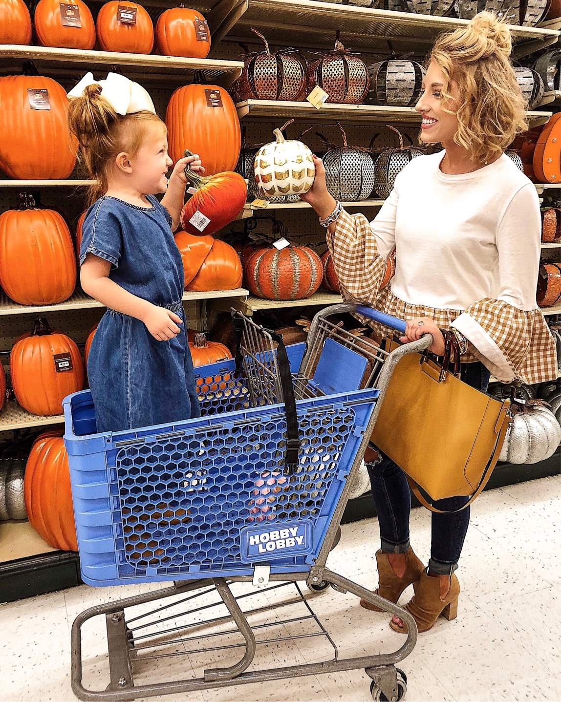 Shopping for Fall Decor at Hobby Lobby - Something Delightful Blog