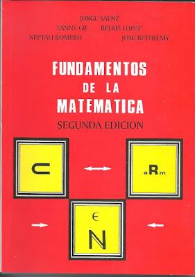 Fundamentos de la Matemática de Jorge Saenz, 2da edición