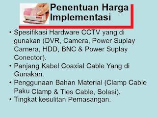 CCTV, Penentu Harga Pasang CCTV, Harga CCTV, Mahal atau Murah Pasang CCTV, Penentuan Harga mahal atau Murah CCTV, CCTV Mahal, CCTV Murah