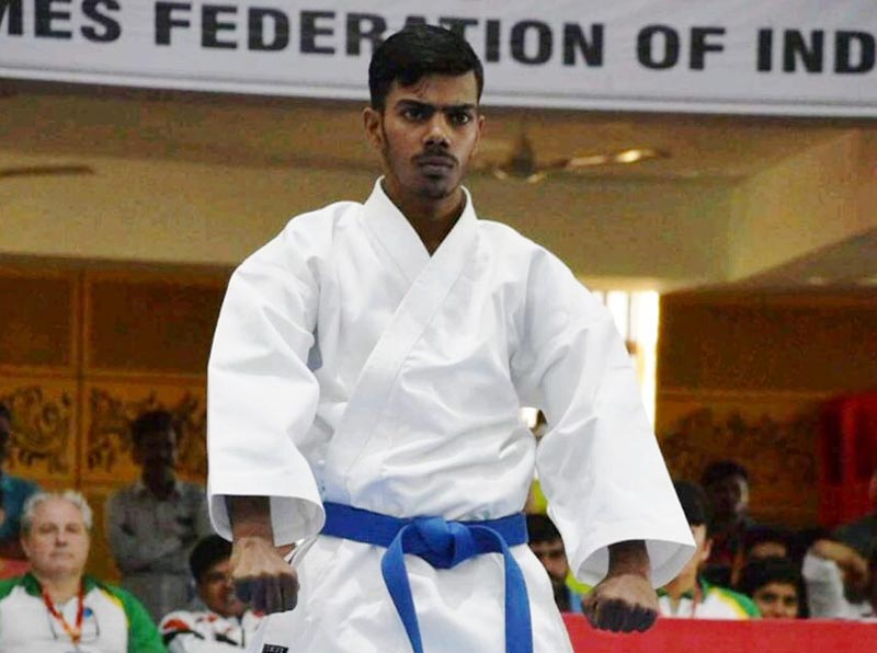 Spring Dalian Ketan Choudhary represents India in International Karate Competition