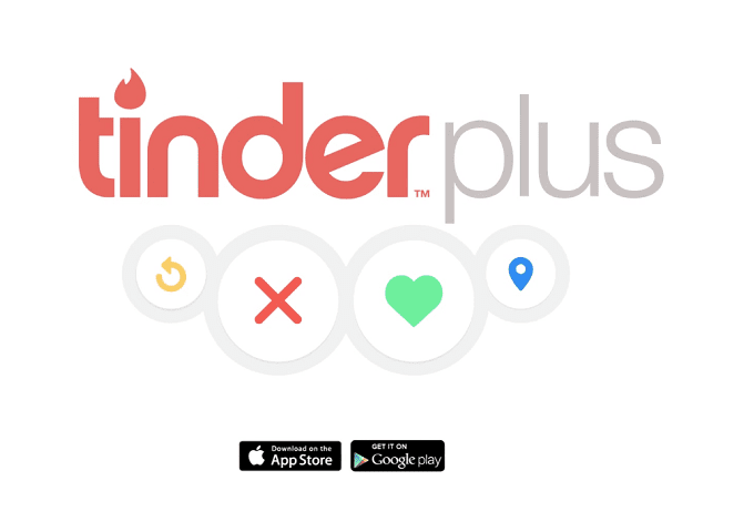 Tinder plus sale