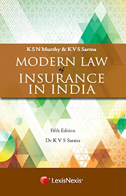 book-modern-law-of-insurance-in-india-in-amazon