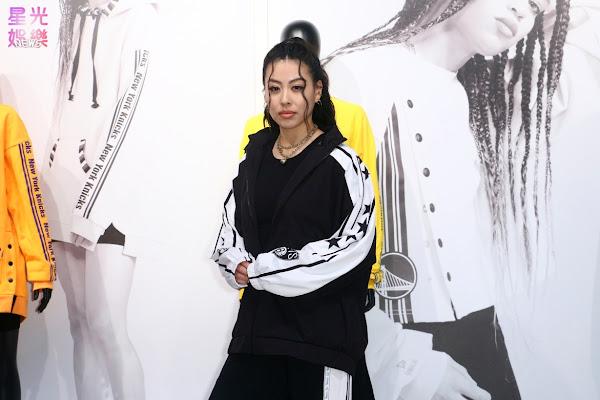 女力核心蔡詩芸出席QORE x NBALAB聯名系列在台上市記者會