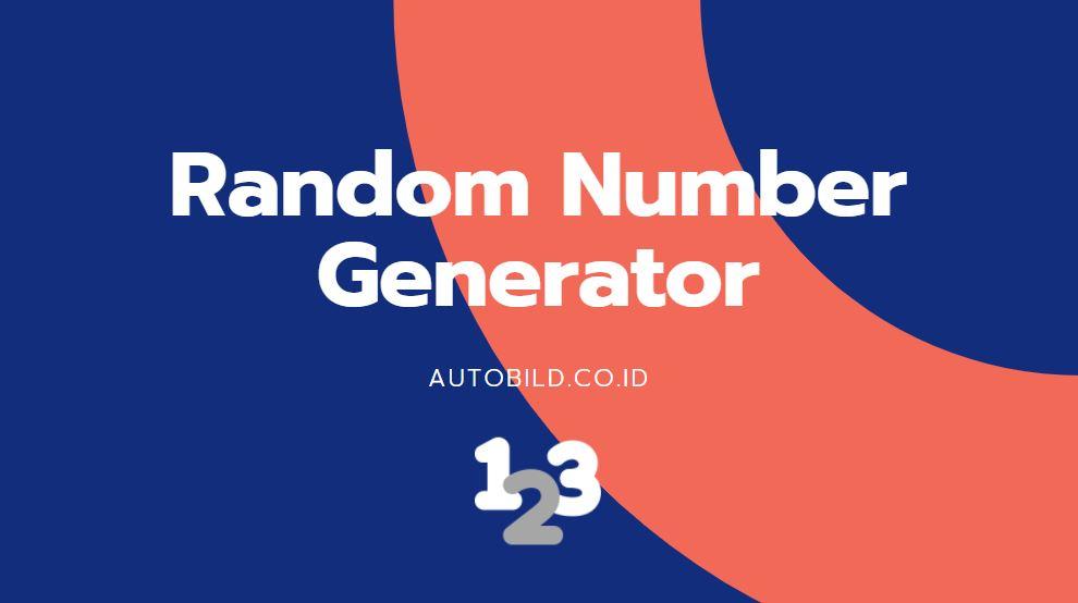 generator acak angka autobild