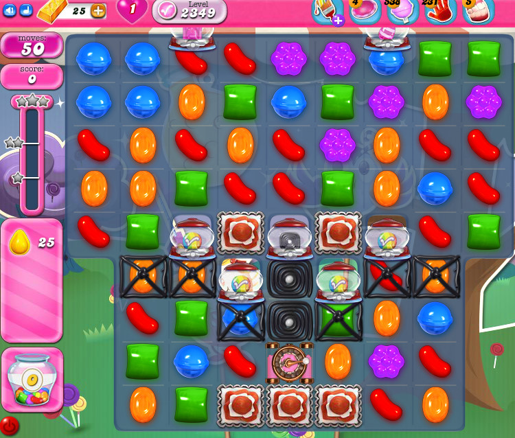Candy Crush Saga level 2349