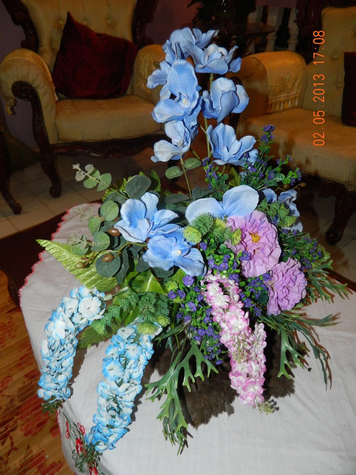 nurins florist GUBAHAN BUNGA HIASAN DALAM RUMAH
