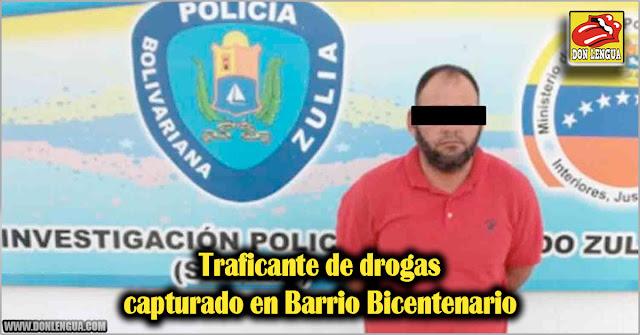 Traficante de drogas capturado en Barrio Bicentenario