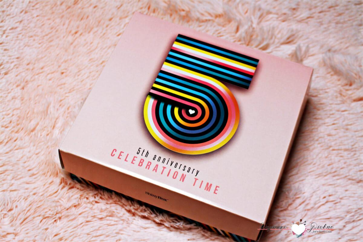 Shiny Box czerwiec 2017 - Celebration Time - Box kosmetyczny