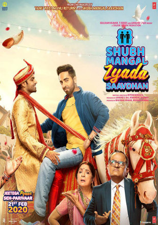 Shubh Mangal Zyada Saavdhan 2020 Full Hindi Movie Download