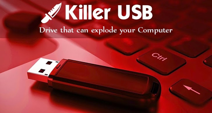 This 'Killer USB' can make your Computer explode