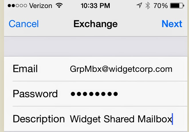 How to Sync iPhone Exchange Server Contact and Calendar