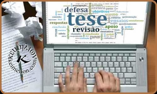 Revisão linguística é fundamental em qualquer tese ou dissertação.