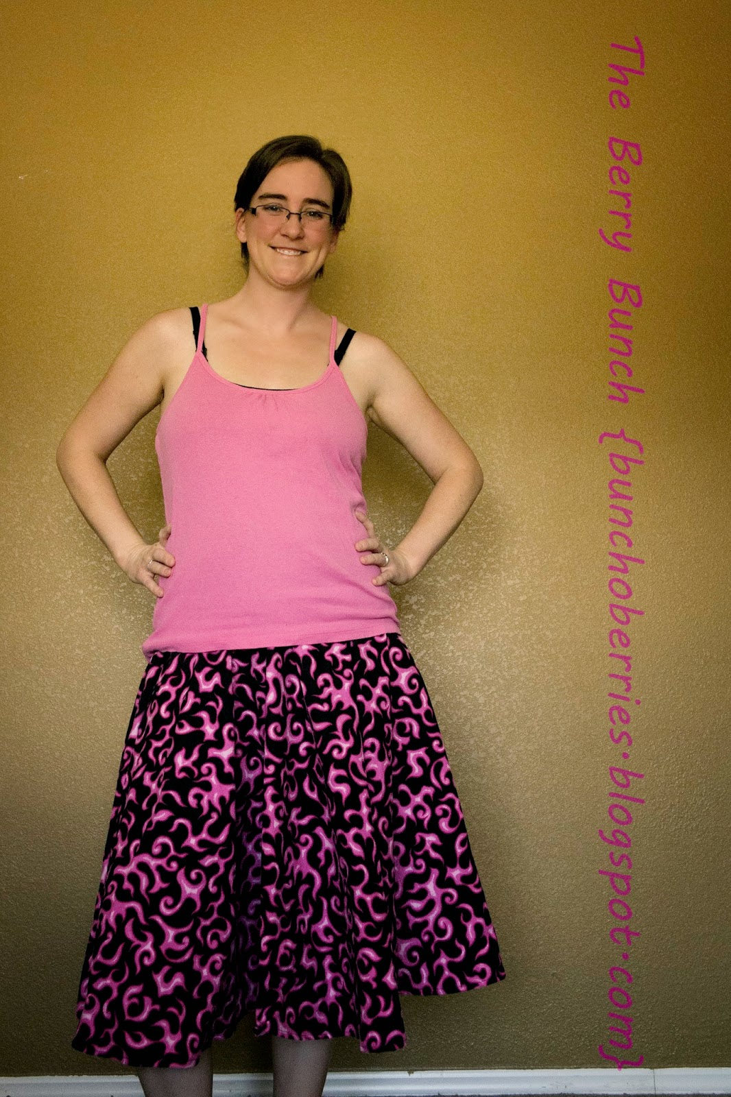The Berry Bunch: Sew-a-bration of Womanhood: Circle Skirt