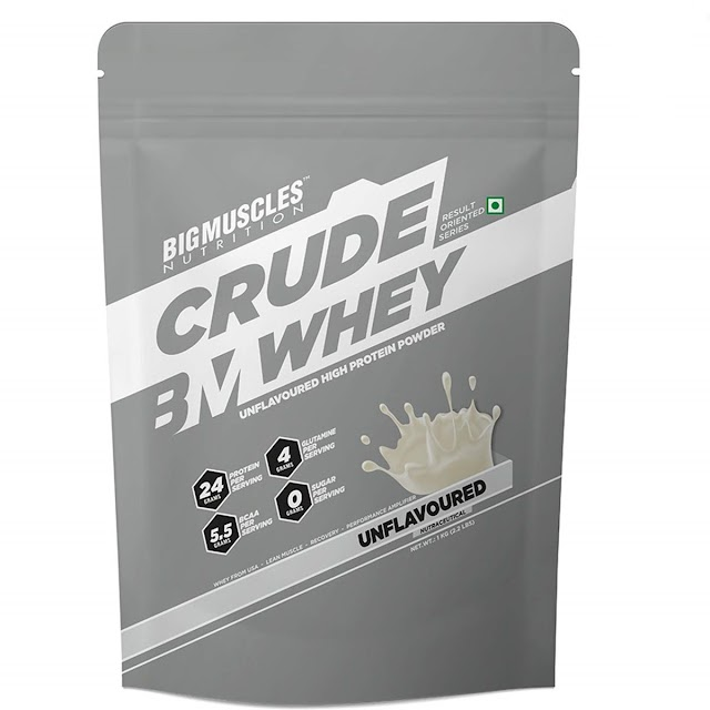 BigMuscles Nutrition Crude Whey Protein Review | Cheapest Whey Protein in India