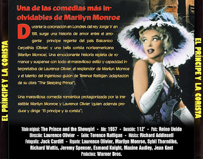 El Príncipe y la corista - [1957]