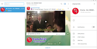 download drama korea lewat telegram