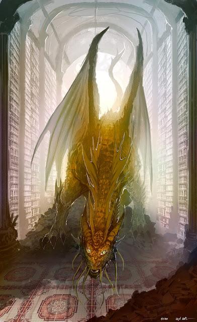 Personalizando a los dragones de Dungeons & Dragons - Dragón Biblioteca