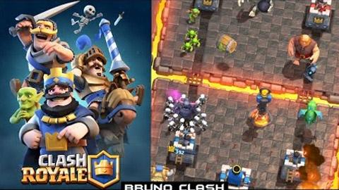 BrunoClash Experimentando Clash Royale (Conhecendo o jogo) - 1