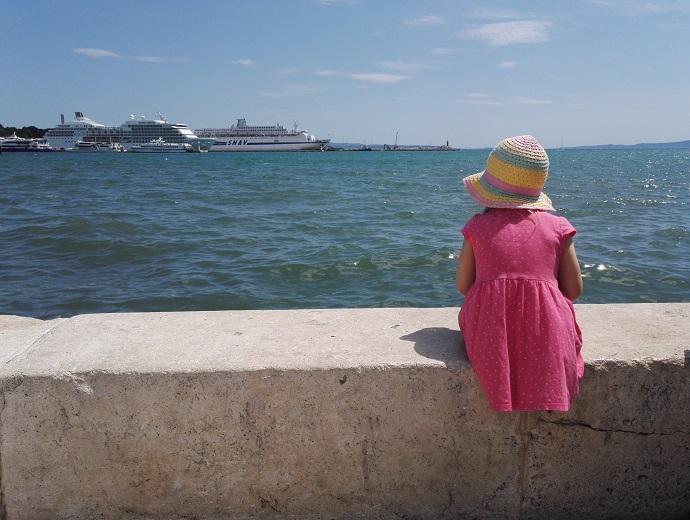 Split, Kroatia lasten kanssa