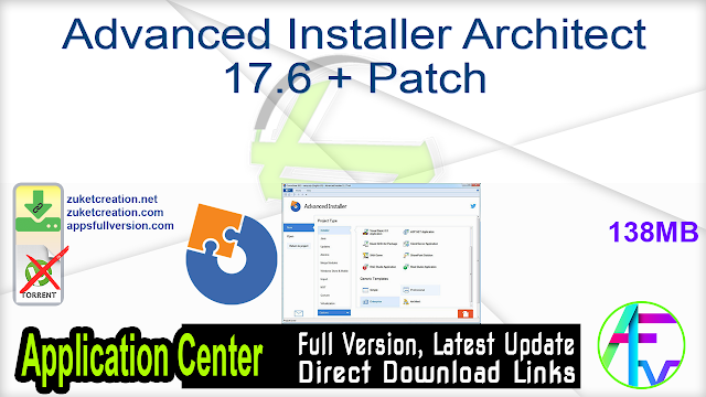 Advanced Installer Architect 17.6 + Patch