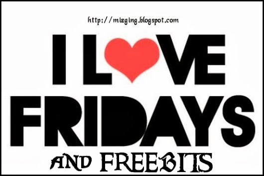Friday Freebits with Ginger - #frifeebits #blogshare
