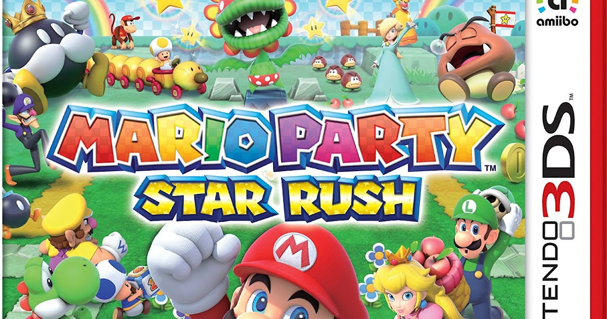 Download 3DS CIAs: Mario Party: Star Rush
