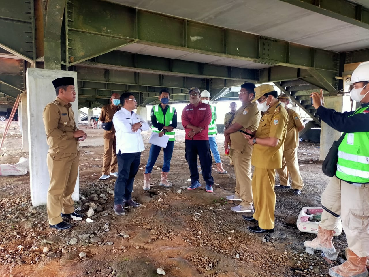 Sidak Pembangunan Kantor Bupati, Devi Suhartoni : Perencanaannya Kurang Matang dan Asal-asalan