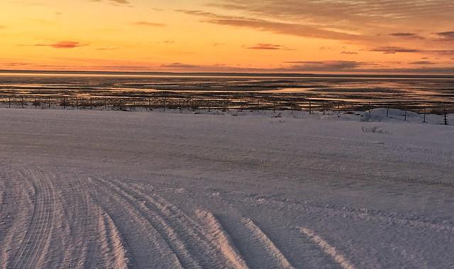 Bay of San Sebastian, Tierra del Fuego, Argentina.