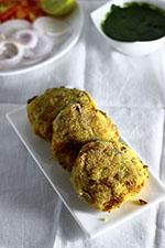 Veg potato vegan snacks Cutlet patty fritter Coriander cilantro kothmir Mint pudina hari green Chutney