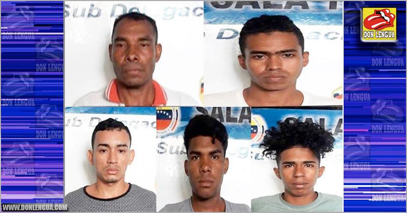 Varios ladrones de la Banda de El Toto fueron detenidos en Anzoátegui