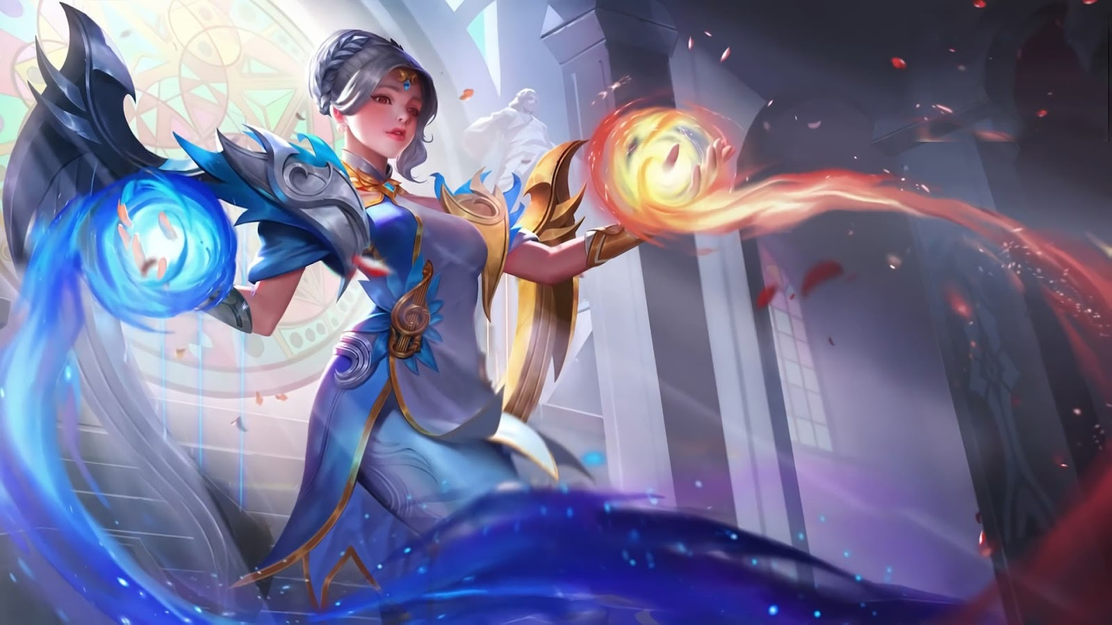 Wallpaper Lunox Cosmic Harmony Skin Mobile Legends Full HD for PC