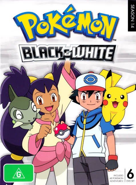 Pokemon Season 14 Black and White Images in 1080p
