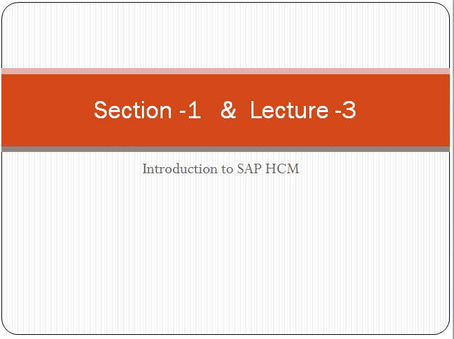 SAP HCM Module - SAP ERP ~ All About SAP ERP #Material #Demo