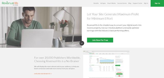 RevenueHits | Top 5 Best Adsense Alternatives For New Bloggers