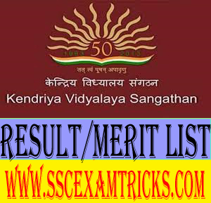 KVS Contractual Computer Instructor & Sports Coach Result