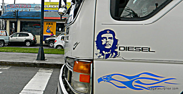 Trajetod de Quito a Otavalo, Equador
