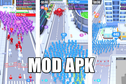 Download Game Crowd City APK v1.3.9 MOD Skins & No ADS