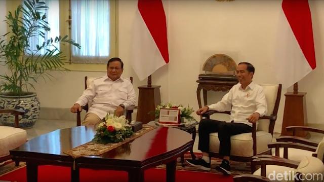 Prabowo: Hubungan Saya dan Jokowi Mesra, Banyak yang Nggak Suka Mungkin