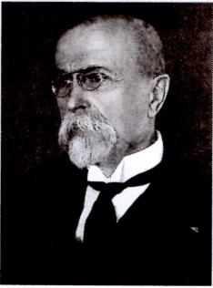 Tomas Garrigue Masaryk , presiden pertama Cekoslowakia.