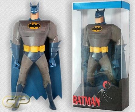 My display box for Ninjatoes' Batman paper craft