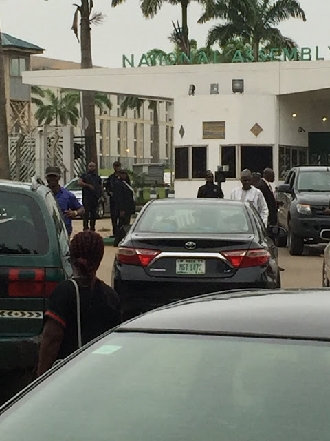 DSS officials take over National Assembly