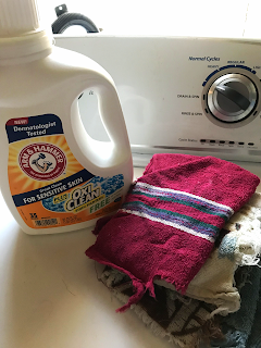 A video review on Arm & Hammer Sensitive Skin Plus OxiClean Laundry Detergent