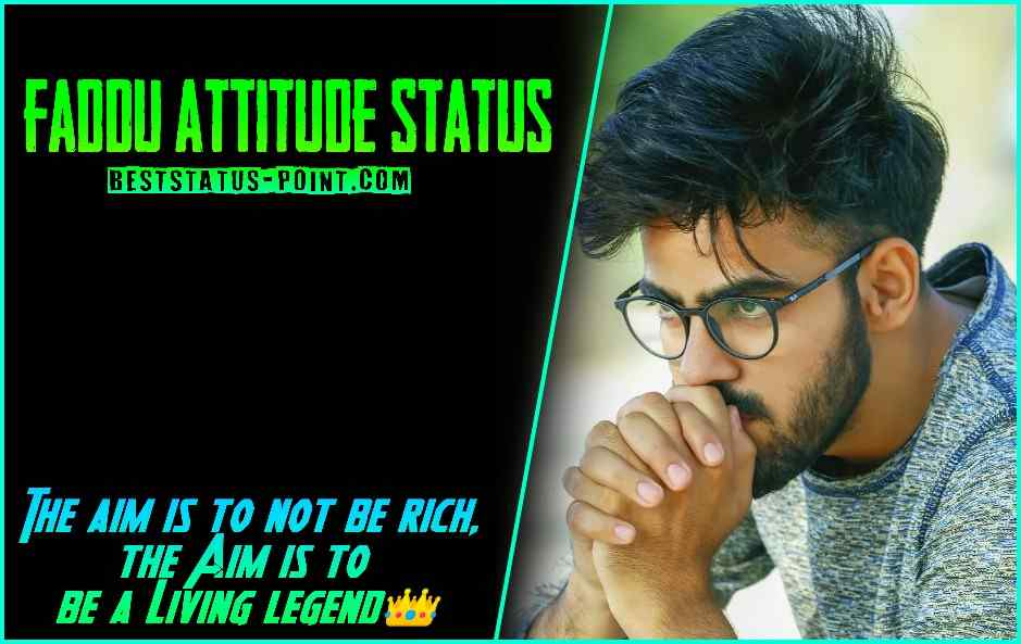 Faddu_Attitude_Status