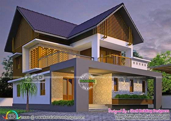 Beautiful sloped roof home 1750 sq-ft